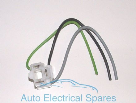 Pre Wired Bulb holder angled with cable for H4 P43t & UEC P45t type bulb / sealed beam